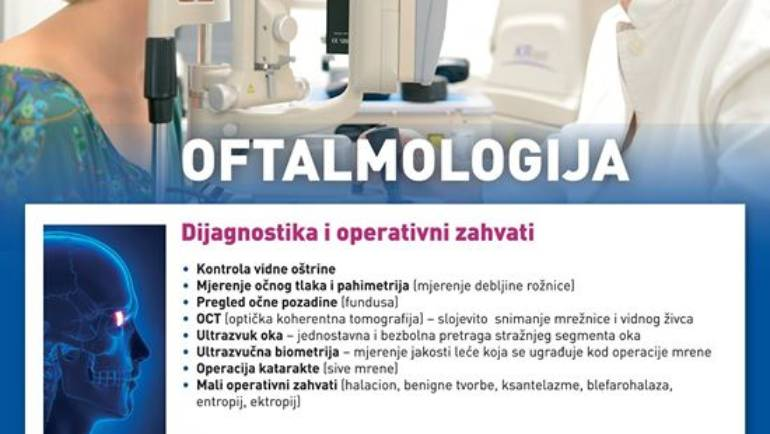 OCNA OPTIKA DAMIR dijeli objavu Specijalna bolnica …